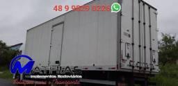 Bau carga seca com chapa de ferro 8.50m Mathias Implementos