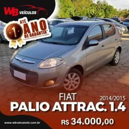 Fiat Palio Attractive 1.4 Evo Flex