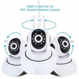 Camera Ip Hd 720 Alta Resolução P2p Noturna Wireless Wifi<br><br>