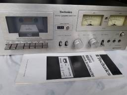 Tape Deck Technics RS-614 com manual