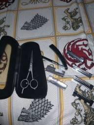Kit tesoura barbeiro