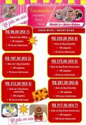 Kit festa à partir de R$ 99,00