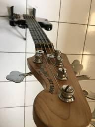 Vendo contra/baixo jazz bass squier 5 cordas