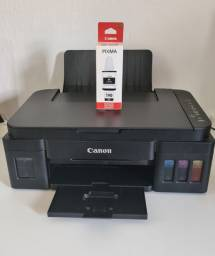 Multifuncional Canon G2100 - tem que comprar cabeça colorida