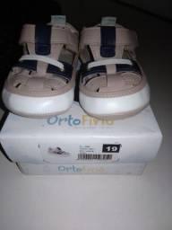 Sapatos infantis bebê tamanha -19