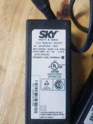 Fonte 12v para receptor Sky