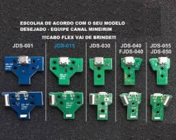 Placa de carregar Controle de Ps4 ( todos os modelos) Cabo flex de brinde!