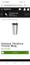 Caneta térmica Nespresso- travel mug