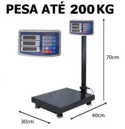 Balança digital 200kg plataforma nova com garantia