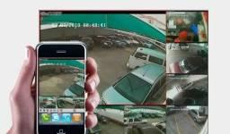 Câmera de Monitoramento e Instalação Elétrica