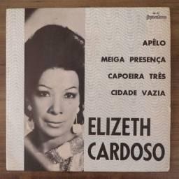 LP Vinil Compacto Elizeth Cardoso - Apêlo/Meiga Presença/Capoeira Três/Cidade Vazia