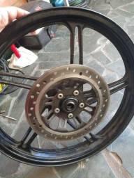 Rodas e freio a disco da 160