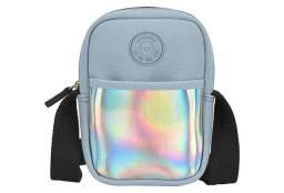 Bolsa tiracolo holográfica moleca