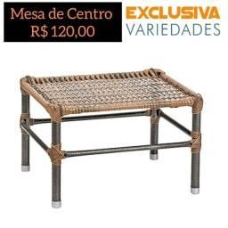 Mesa De Centro Fibra Capuccino + Entrega Grátis