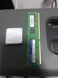 Memória RAM DDR3 e Processador