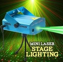 Mini projetor laser compacto