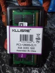 Memoria Ram 8 GB DDR3 Notebook