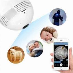 Título do anúncio: Lâmpada C/ Câmera de Monitoramento 360º <br>