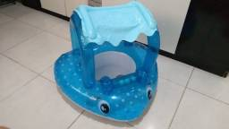 Boia infantil Intex. Modelo fralda e parasol.