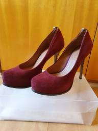 Sapato AREZZO camurça