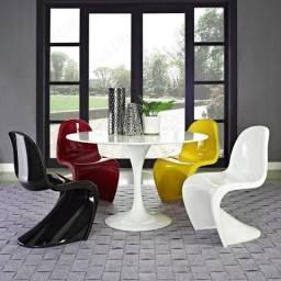Cadeiras/ poltronas Panton (design moderno)