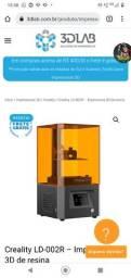 Título do anúncio: Impressora 3d de resina nova na caixa com nota