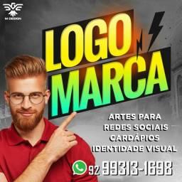 Logotipo logomarca e identidade visual
