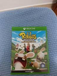 Jogo Xbox One Rabbids Invasion (Kinect) original