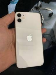 iPhone 11 128gb branco 2 meses de garantia pela loja