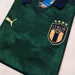 Camisa Itália 2021 Puma s/n Verde Torcedor