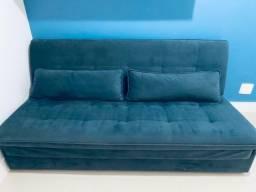 Sofá Cama Azul - Precinho bem abaixo para vender logo e desocupar espaço.