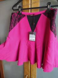 Saia Bo.Bô rosa pink Tam M com etiqueta