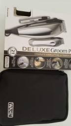 Kit Wahl Groom Pro DeLuxe 127 v máquina de corte cabelo e pelos
