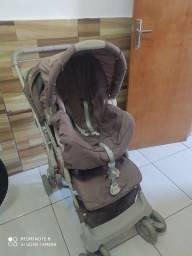 Carrinho e bebe conforto Galzerano