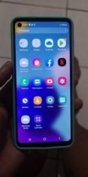 Título do anúncio: Celular Samsung A21s 64g semi novo  4de ram bateria 5000 amperes