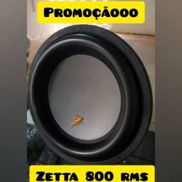 Sub zetta 800 rms NOVOS