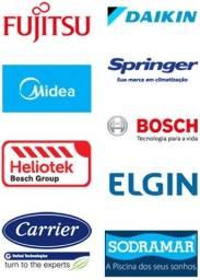 Título do anúncio: Resfri ar condicionado manutenção instalação