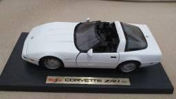 Título do anúncio: Miniatura Corvette ZR-1 Branco 1992