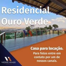 Título do anúncio: ALUGUEL - LOCAÇÃO - CASA EM CONDOMÍNIO - OURO VERDE / PONTE ALTA - BETIM
