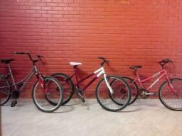Bicicletas na promoção