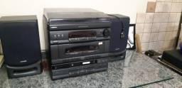 Título do anúncio: Rádio Micro system Samsung SCM-7450