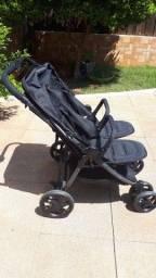 Carrinho de bebê duplo gêmeos (importado: Red Kite)