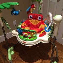 Pula pula jumperoo forest fisher price usado