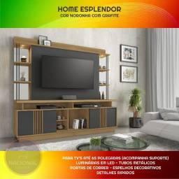 Estante Home Theater para TV até 65 Polegadas Pague em 12x