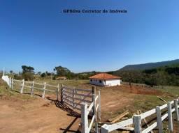 Chácara 10.000 m2 Casa Nova 3 dorm. suite Escritura Ref. 421 Silva Corretor