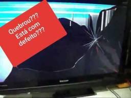 C.O.M.PR.A.M.OS TV COM TELA QUEBRADA OU COM DEFEITO