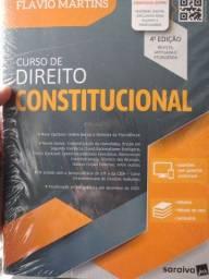 Livro novo Curso de Direito Constitucional - prof. Flávio Matins