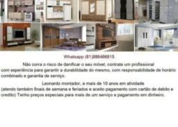 Título do anúncio: Montador de móveis profissional mais barato do DF *
