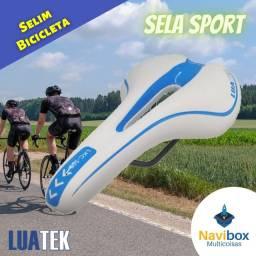 Sela Banco De Bicicleta Esportivo Selim Vazado   Luatek