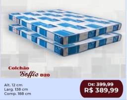Título do anúncio: Colchão Casal D20 R$389,99